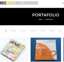 Mi página web hecha con Wordpress. Un proyecto de Diseño gráfico de enricloizu - 19-10-2016