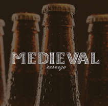 Medieval - cerveza. A Graphic Design, Packaging, and Product Design project by Daniela Figueras Pinto - 26-10-2016