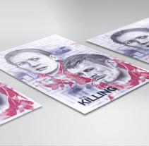 Proyecto curso: Ilustración artística y comercial. THE KILLING. Un proyecto de Ilustración y Diseño gráfico de Gonzalo  Codoñer Contell - 28-10-2016