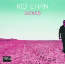 """Portada y contraportada para Kid Ehan en su trabajo """"Boxes"""". A Design project by Pablo Deparla         - 01.11.2016"""