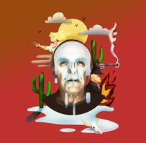 Westworld //Mi Proyecto del curso: Ilustración exprés con Illustrator y Photoshop. A Illustration project by cfasencio         - 07.11.2016