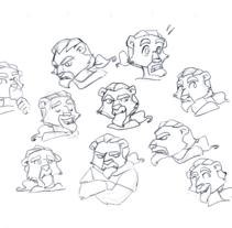 Expressions. Un proyecto de Animación de Marta sanchez         - 04.11.2016