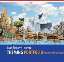 THEMING PORTFOLIO JUAN NAVARRO II. A Illustration, Architecture, Game Design, Interior Architecture, Sculpture, and Set Design project by Juan Navarro Lorente - 06-11-2016
