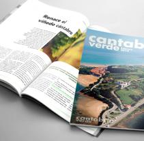 Revista Cantabria Verde. A Editorial Design, and Graphic Design project by Víctor Manuel Ozcáriz Almeida         - 11.06.2014