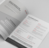 Brochure . A Editorial Design project by Karina Riquelme         - 08.08.2013