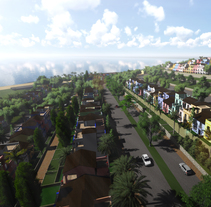 Urbanización en la Costa del Sol. Um projeto de Design, 3D, Arquitetura, Design gráfico, Arte urbana e Infografia de José Manuel Soriano López         - 31.01.2016