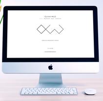 Olivia Wild new brand identity. Um projeto de Br e ing e Identidade de María González         - 30.09.2016