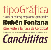 Tipografía Fontana. A T, and pograph project by Bauertypes  - 13-11-2016