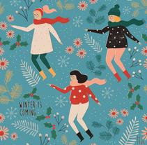 Diseño de estampados. Un proyecto de Diseño e Ilustración de Tània García Jiménez - 14-11-2016