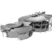 ESCUELA DE SURF   JA´POQJAL (agua y arena). Um projeto de Arquitetura de alexrecancoj - 14-11-2016