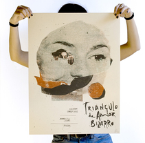 Pósters para Sonorama Festival. Un proyecto de Ilustración, Dirección de arte, Diseño gráfico y Serigrafía de Münster Studio - 22-11-2016