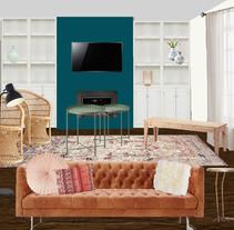 PRUEBA RENDER PHOTOSHOP. Un proyecto de 3D, Diseño de interiores, Escenografía y Collage de Manuela Albuquerque         - 22.11.2016
