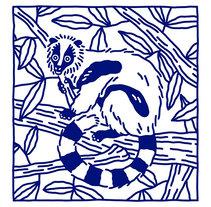Lemur illustration. Un proyecto de Ilustración de Montse Galbany Armengol         - 23.11.2016