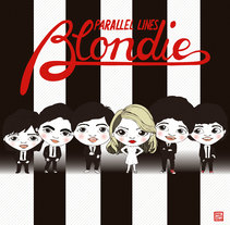 Blondie. Parallel lines. A Illustration, Music, and Audio project by Sheila Arnela - 19-10-2016