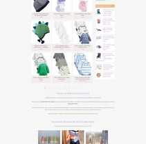 Tienda de Bebés Online Zilendo. Um projeto de Web design de Jose Luis Torres Arevalo         - 31.10.2016