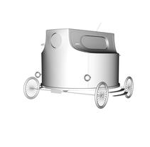 Modelo de un coche a partir de una boquilla de Spray. Um projeto de 3D de Beatriz Orellana Matías         - 17.12.2016