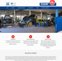 Taser 24 Horas. A Design, Marketing, Web Design, and Web Development project by Plat-on.es           - 29.11.2016