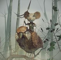 Sparrow rider (Concept by Even Amundsen). Un proyecto de Ilustración, 3D, Diseño de personajes e Infografía de Daniel Franco Jareño - 06-12-2016