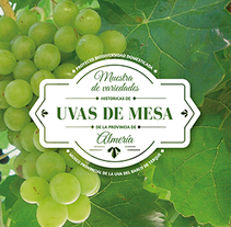 Exposición Uvas de Mesa. A Design, Art Direction, Br, ing, Identit, and Crafts project by Manuela Arias         - 10.12.2016
