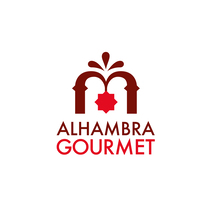 Proyecto Alhambra Gourmet. Imagen corporativa y cartelismo.. A 3D, Graphic Design, and Naming project by Jorge Merino Rodriguez         - 19.05.2016