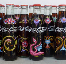 Botellas de Coca Cola. A Advertising, Br, ing, Identit, and Painting project by Alfredo  Genovese - 21-01-2017