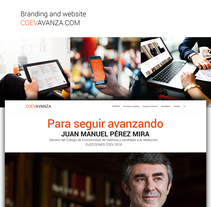 Coev Avanza: branding y web design. A Br, ing, Identit, Graphic Design, and Web Design project by Gonzalo Cervelló Rementería         - 14.12.2016