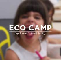ECO CAMP by Learn and Play. Um projeto de Motion Graphics, Cinema, Vídeo e TV, Cinema e   Vídeo de César Pereyra Venegas         - 22.12.2016