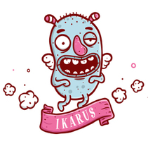 IKARUS. A Design, Illustration, Character Design, Crafts, Design Management, Product Design, Sculpture, To, and Design project by Shiffa McNasty - Aug 01 2016 12:00 AM
