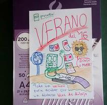Verano del '16. Un proyecto de Ilustración y Comic de Diego Canalejas - 19-09-2016