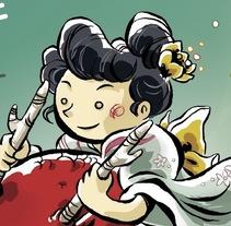 Carteles JAPAN FESTIVAL. Un proyecto de Ilustración de Carolina Albalá - 10-01-2017