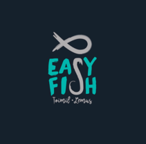 Logotipo e imagen de marca EasyFish. A Art Direction, Br, ing, Identit, Graphic Design, and Web Design project by Araceli Sánchez         - 31.10.2016