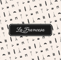 La Francesa | Identidad. A Br, ing, Identit, Cooking, and Graphic Design project by Javier Real - 15-01-2017