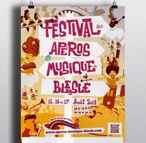 Festival des Aperos Musique de Blesle. A Design project by Juan Manuel Vega Horcas         - 17.01.2015