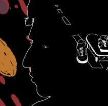 Animación Rotoscopía Videoclip. Un proyecto de Animación de Maro Margulis - 19-12-2016