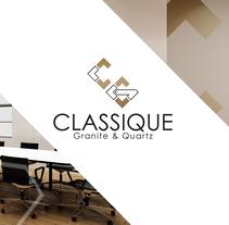 Diseño de logo e identidad corporativa para Classique. Un proyecto de Br e ing e Identidad de jaime florian arias         - 18.01.2017