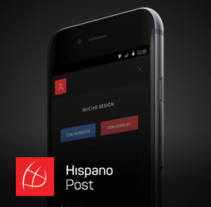 Portal Web Hispano Post. A UI / UX, Graphic Design, and Web Design project by Aitor Saló         - 25.01.2017