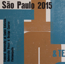 AtypI São Paulo 2015. A Illustration, Graphic Design, T, and pograph project by aseq - 23-05-2015