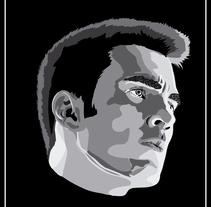 Chris Evans (Capitán América). Um projeto de Ilustração de JESSICA BERRAQUERO LARA         - 29.01.2017
