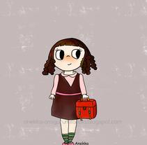 back to school. Um projeto de Ilustração e Design de personagens de Ana         - 31.01.2017