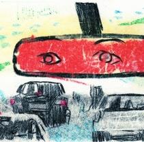 BEARDED STRANGER. Un proyecto de Ilustración, Bellas Artes y Comic de David Navas - Jueves, 02 de febrero de 2017 00:00:00 +0100