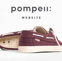 Pompeii Website. A UI / UX, Art Direction, and Web Design project by Pablo Chico Zamanillo - Feb 05 2017 12:00 AM
