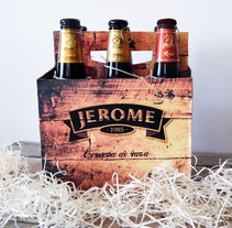 Packaging cerveza artesanal ¨JEROME¨. A Graphic Design project by Nadia Ramos         - 14.03.2014
