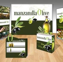 Proyecto STAND FERIA - Manzanilla Olive. A Set Design project by ENRIQUE LOBATO GIL         - 08.02.2017