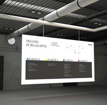Señalética Facultad de BBAA, ULL. A Information Architecture project by Claudia González Fernández         - 09.02.2017