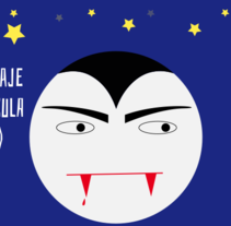#HomenajeCineTerrorDracula. A Motion Graphics, and Animation project by Amelia Fernández Valledor         - 09.02.2017