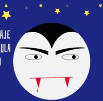 #HomenajeCineTerrorDracula. Un proyecto de Motion Graphics y Animación de Amelia Fernández Valledor         - 09.02.2017