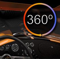 Shelby AC Cobra Interior VR 360º 4K. Un proyecto de Música, Audio, 3D, Animación, Diseño gráfico, Diseño industrial, Vídeo y VFX de Ivan C         - 12.01.2016
