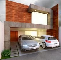 Fachada Ruíz. Um projeto de 3D, Arquitetura e Pós-produção de Diego González León         - 14.02.2017