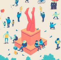 Binaposters. Un proyecto de Diseño, Ilustración, Dirección de arte, Diseño de personajes, Diseño gráfico y Lettering de Binalogue  - 14-07-2015