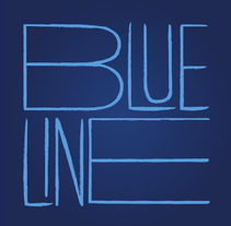 Blue line. A Graphic Design project by Javier Gutiérrez         - 16.02.2017